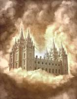 Salt Lake Temple Version 2