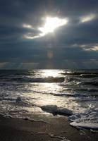 Spotlight On Stormy Seas