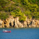 """Fishing boat in Skiathos"" by AlexandruVita"