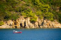 Fishing boat in Skiathos