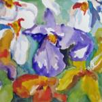 """Ahh Spring Iris"" by Delilah"