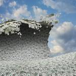 """""""Tidal Wave of Money"""" by johnlund"""