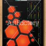 """TWELVE DRUMMERS DRUMMING"" by artfactory_UK_com"