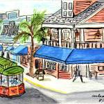 """Duval Street Trolley"" by arlene72"