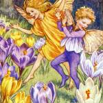 """The Crocus Fairy"" by DevereauxGallery"