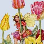 """The Tulip Fairy"" by DevereauxGallery"
