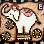"""VINTAGE ELEPHANT"" by KELLYLISHART"