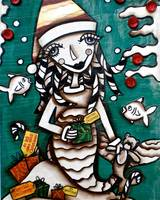 CHRISTMAS MERMAID