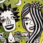 """GIRLFRIENDS 7"" by KELLYLISHART"