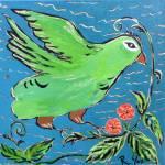 """""""Perri in the Garden"""" by ArtznCatz"""