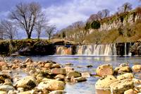 Yorkshire Dales Waterfall