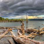 """0174 Steamboat Landing Panoramic"" by vincentlouis"