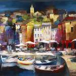 """WH Spanish port town"" by willemhaenraets"
