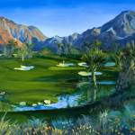 """Golf Indian Wells Celebrity Course #14 Print"" by KeatingArt"