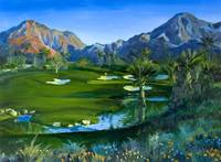 Golf Indian Wells Celebrity Course #14 Print