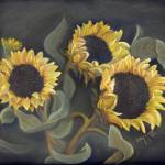 """""""Sunflowers"""" by Art-That-Inspires"""