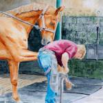 """Horse Pedicure"" by mozache"