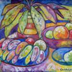 """Emcima da mesa redonda"" by anagoldberger"