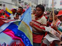 Venezuelan indians in a march 002
