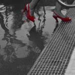 """""""Saliendo de la piscina"""" by luzazul1"""