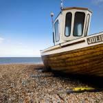 """Fishing boat near Deal, Kent UK"" by haraldkrefting"