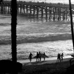 """Surfers at San Clemente"" by orincassill"