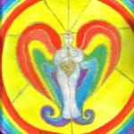 """Awakened Angel of Light"" by Christia"