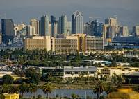 San Diego & Point Loma Skyline CityScapes