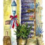 """""""Basket at stairs : 28"""" by OAKTREE"""