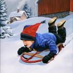 """The New Sled"" by Dullinger"