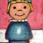 """""""Fisher Price girl with Hat"""" by meredithsteele"""