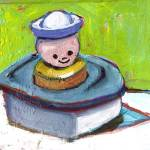 """""""small boy in a boat"""" by meredithsteele"""