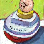 """""""Fisher Price Baby in Boat"""" by meredithsteele"""