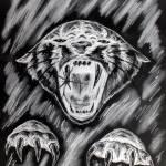 """""""Myth Illustration 3 (Negative)"""" by silverwind"""