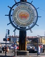 San Francisco Fisherman's Wharf Sign
