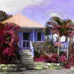 """Island Cottage"" by Art_by_Debrosi"