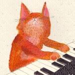 """""""Keyboard cat"""" by lukaluka"""