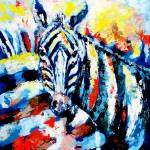 """ZEBRA HERD"" by claudemarshall"