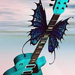 """Flying Guitar"" by ShayneHanson"