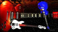 Red White & Blue Guitars
