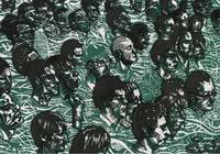 green crowd