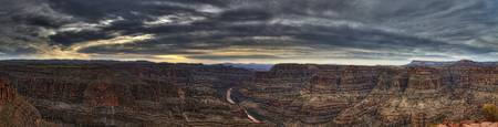 Grand Canyon Panoramic in HDR