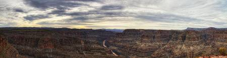 Grand Canyon Panoramic in HDR - Lighter