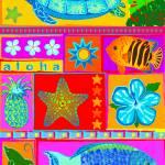 """Aloha Turtle"" by DezineZone"