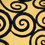 """Dublin Fence Detail in Yellow"" by aroundtheisland"