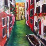 """Venice Waterway"" by adriennemyles"