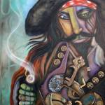 """Captain Barbosa"" by ArtPrints"