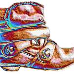 """Stunning Boot art"" by carolekeen"