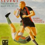 """Charleston Outlaws Sevens Tournament"" by FluidColor"