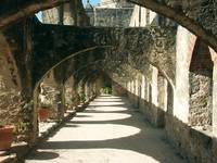 Arched Walkway at Mission San José